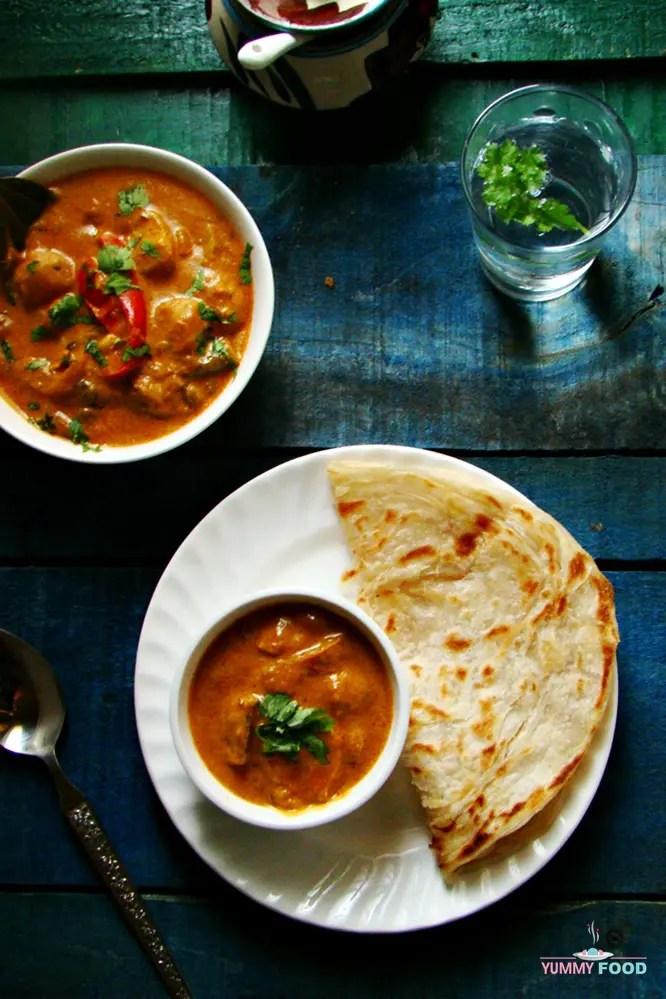 Hyderabadi Shahi Mixed Vegetables Qorma