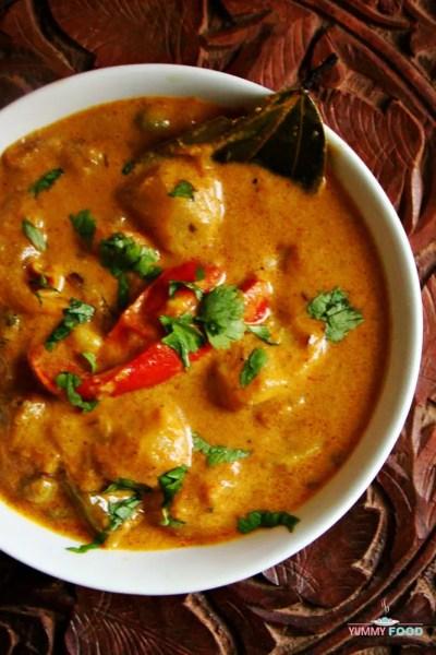 Hyderabadi Shahi Mixed Vegetable Curry