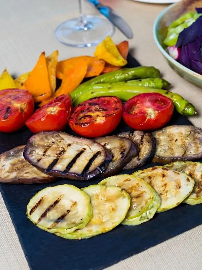 grilled vegetables are beneficial for you