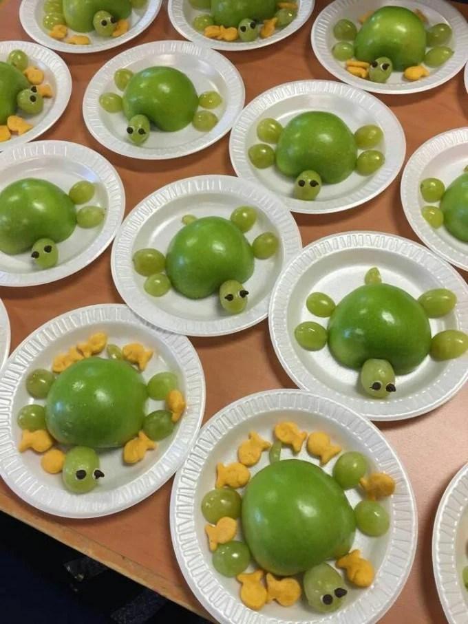 Apple Turtle Snack