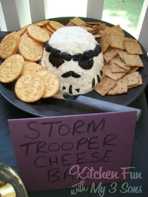 Storm Trooper Cheese Ball
