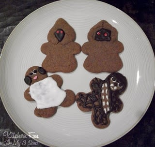 Star Wars Gingerbread Men