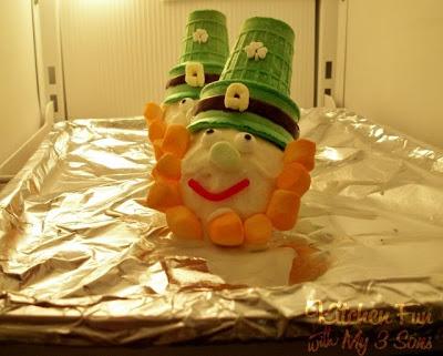 Leprechaun Ice Cream for St. Patrick's Day!