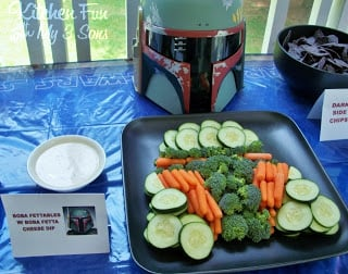 Bobafettables and Boba Fetta Cheese Dip