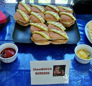 ChewBOCCA Burgers