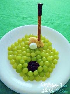 Grape Golf Snack!