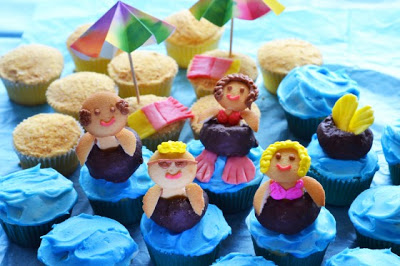 Inner Tube Cupcakes