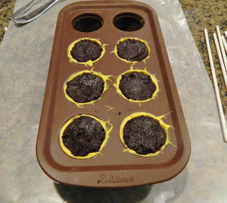 Putting The Cake Pop Mixture in