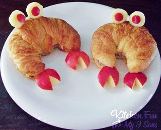Crab Croissants Snapwiches