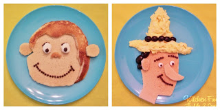Curious George & Man With The Yellow Hat Breakfast