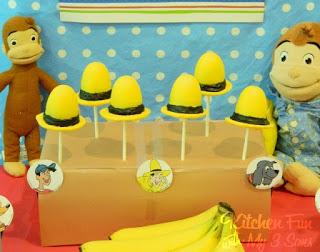 Yellow Hat Cake Pops