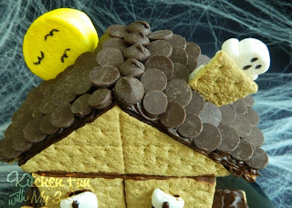 Haunted House S'mores Roof