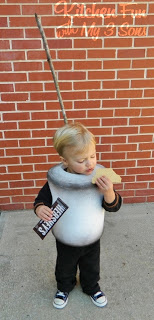 Toasted Marshmallow Costume