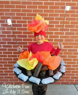 Camp Fire Costume