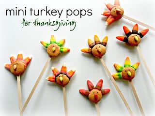 Cookie Turkey Pops