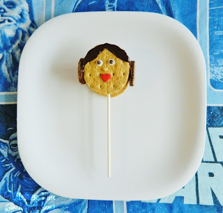 Princess Leia S'mores Pops