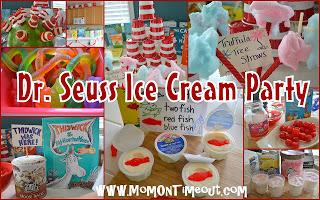 Dr. Seuss Ice Cream Party