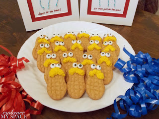 The Lorax Nutter Butter Cookies