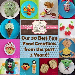 Our 2 Year Blog Anniversary with 30 of our Best Fun Food Creations!