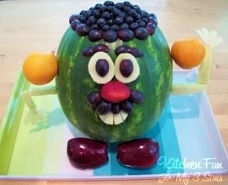 Mr. Potato Watermelon Head.
