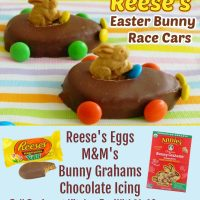 Reese's Easter Bunny Race Cars