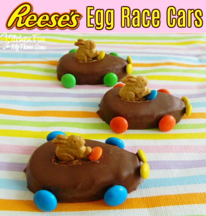 Reese's Easter Bunny Egg Cars