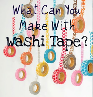 Ways You Can Use Washi Tape
