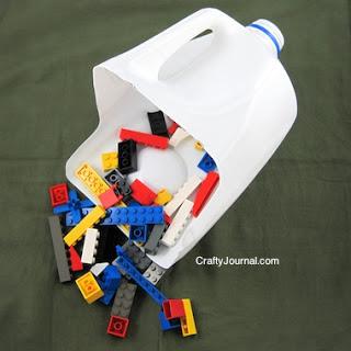 Milk Jug Toy Scoop