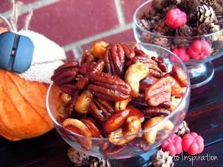 Pumpkin Pie Spice & Brown Sugar Nuts