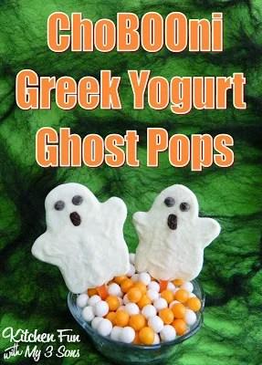 Greek Yogurt Ghost Pops