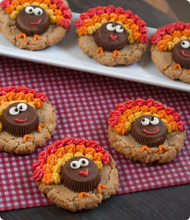 Turkey Cookies from Bake at 350