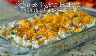 Ranch Twice Baked Potato Casserole