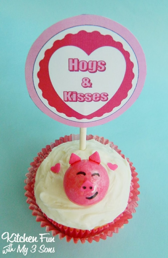 Here is our Hogs & Kisses Printable