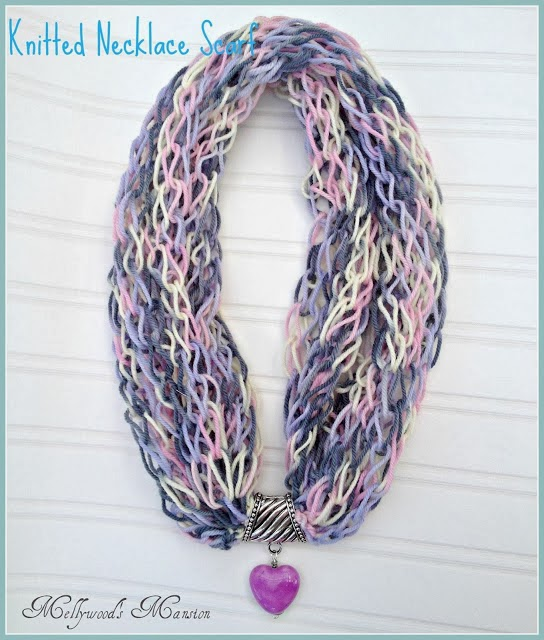 Knitted Necklace Scarf