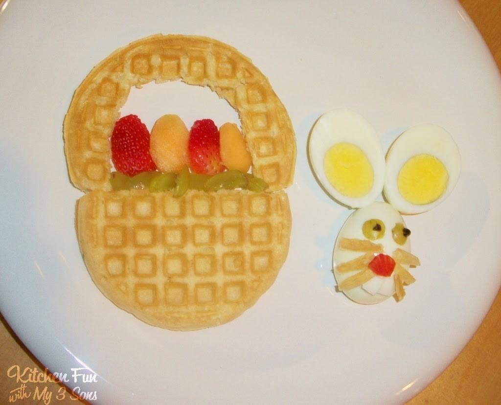 Easter Bunny Basket Breakfast
