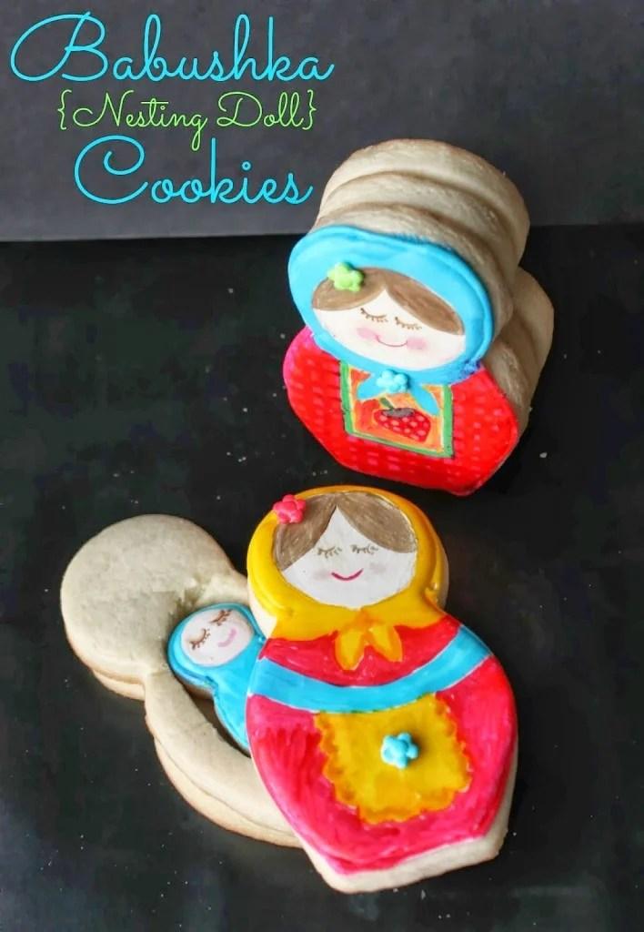 3D Babushka Cookies