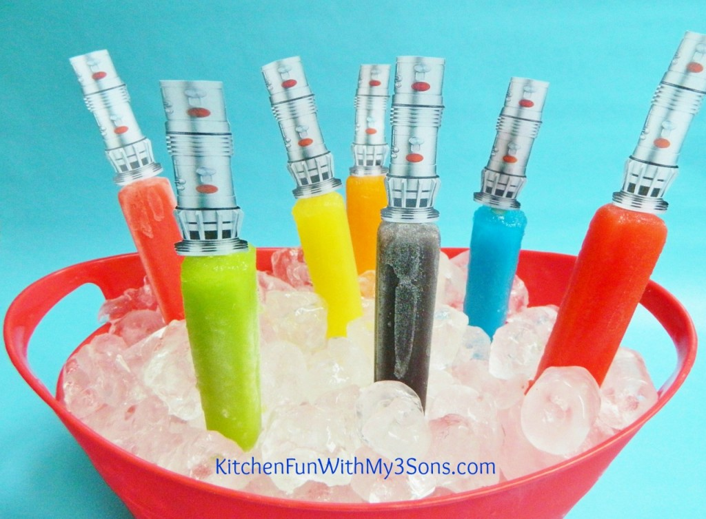 Popsicle Lightsabers