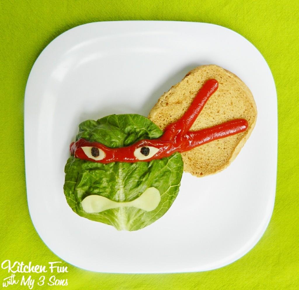 Teenage Mutant Ninja Turtle Burgers