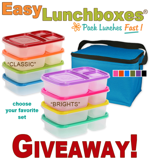 Easy Lunchboxes GIVEAWAY!