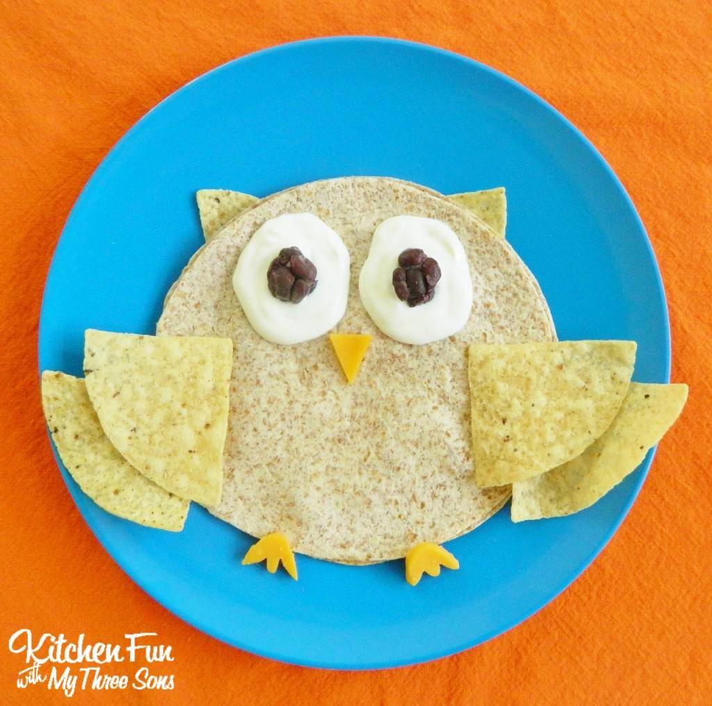 Owl Quesadilla