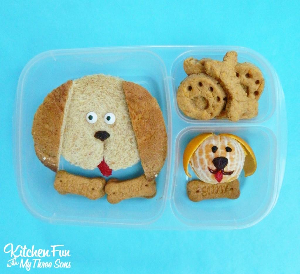 Puppy Bento Lunch