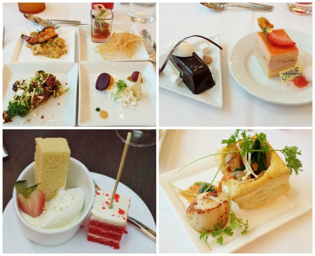 This is just a small glimpse of some of our food provided by the top chefs at Disney