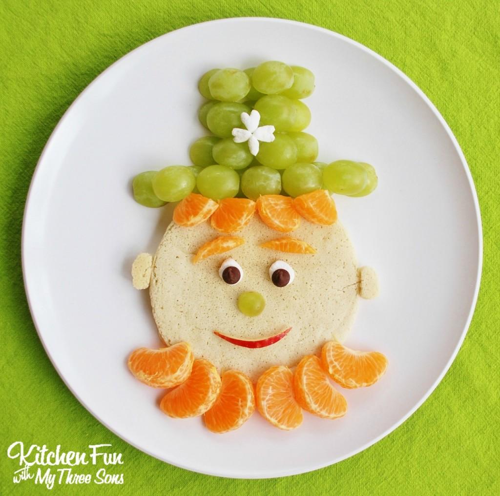 St Patrick S Day Leprechaun Pancakes For Breakfast