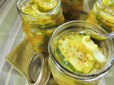 Easy Refrigerator Bread & Butter Pickles