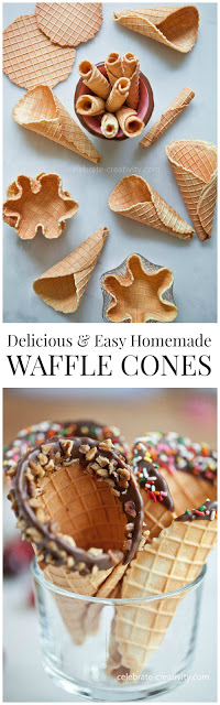 3 Ways to Make & Eat Waffle Cones