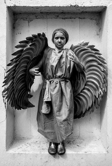 Angel Statue Costume