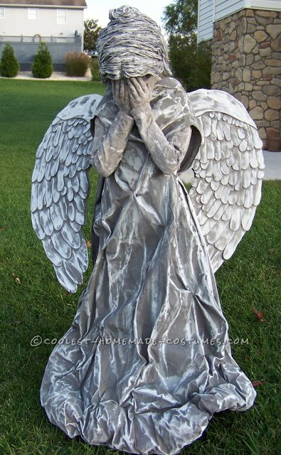 Child Cemetery Angel Costume