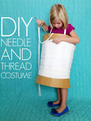 DIY Needle & Thread Costume