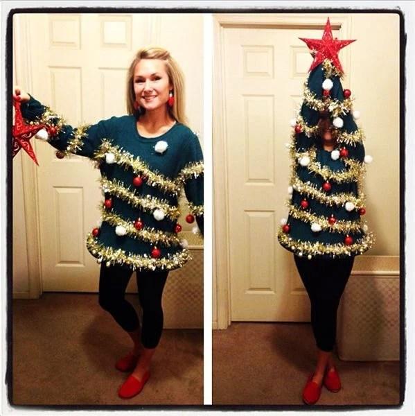 Ugly Christmas Tree Sweater...so fun!