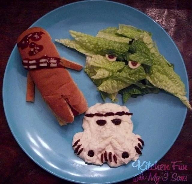 Star Wars Dinner for Kids